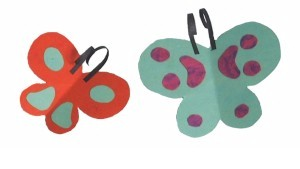childrens craft to make paper butterflies