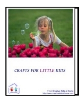 Crafts and Activities for Little Kids Book Cover