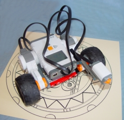 robot with touch sensor