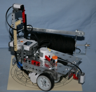 String robot with Tetrix parts