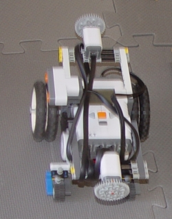 robot with lots of sensors